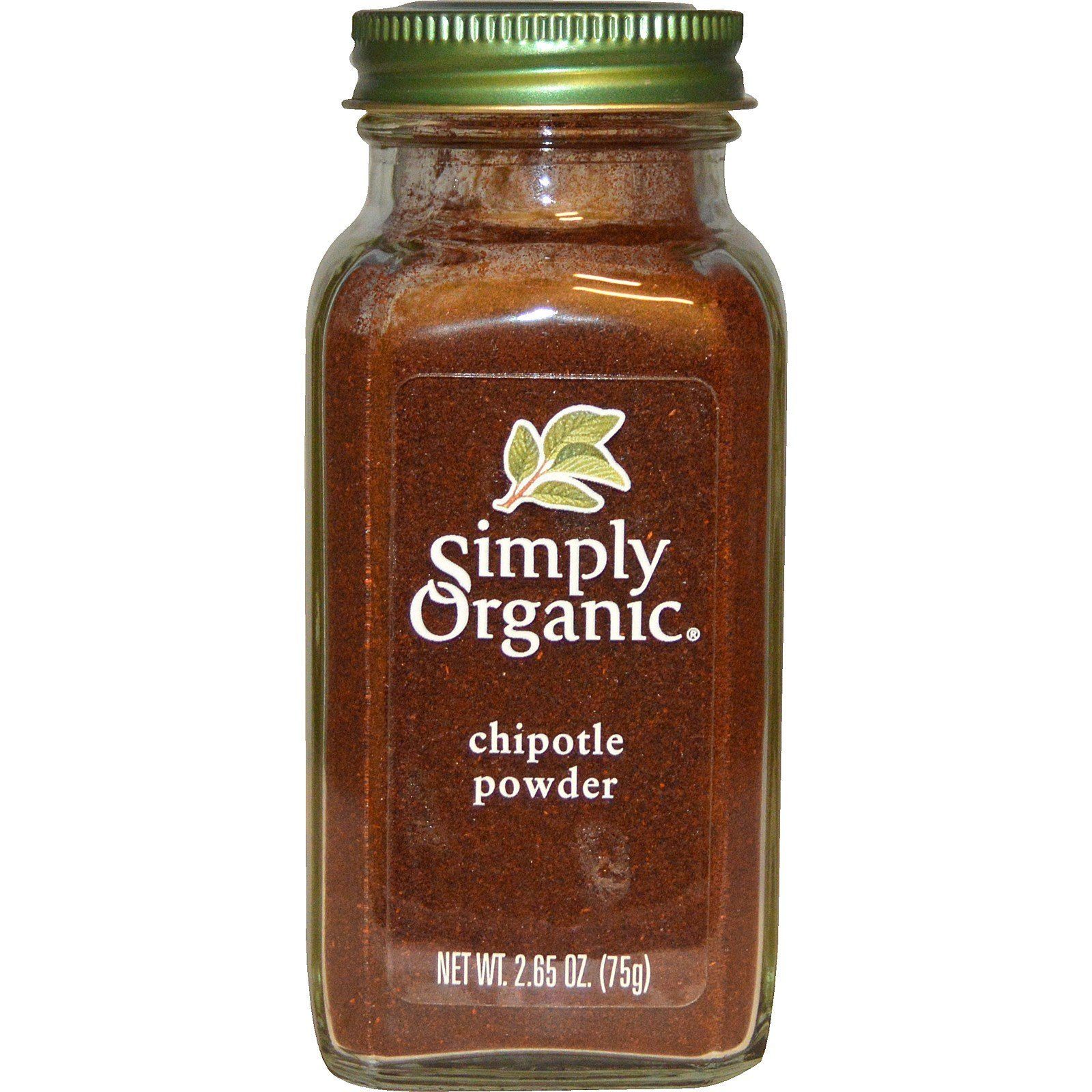 Simply Organic, Organic Chipotle Powder, 2.65 oz (75 g) Simply Organic, Organic Chipotle Powder, 2.65 oz (75 g) - 2pcs