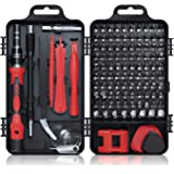 Gocheer Min Precision Screwdriver Set, 115 in 1 Magnetic Screwdriver Set with Case for iPhone, Computer, PC, Watch…