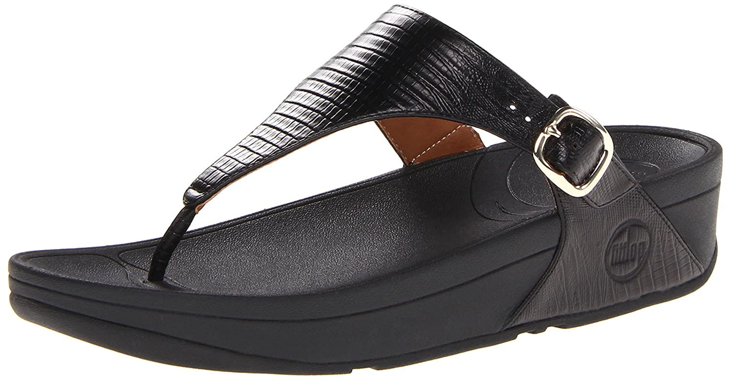 9d924941cbe FitFlop Women s The Skinny Flip-Flop Black  Buy Online at Low Prices in  India - Amazon.in