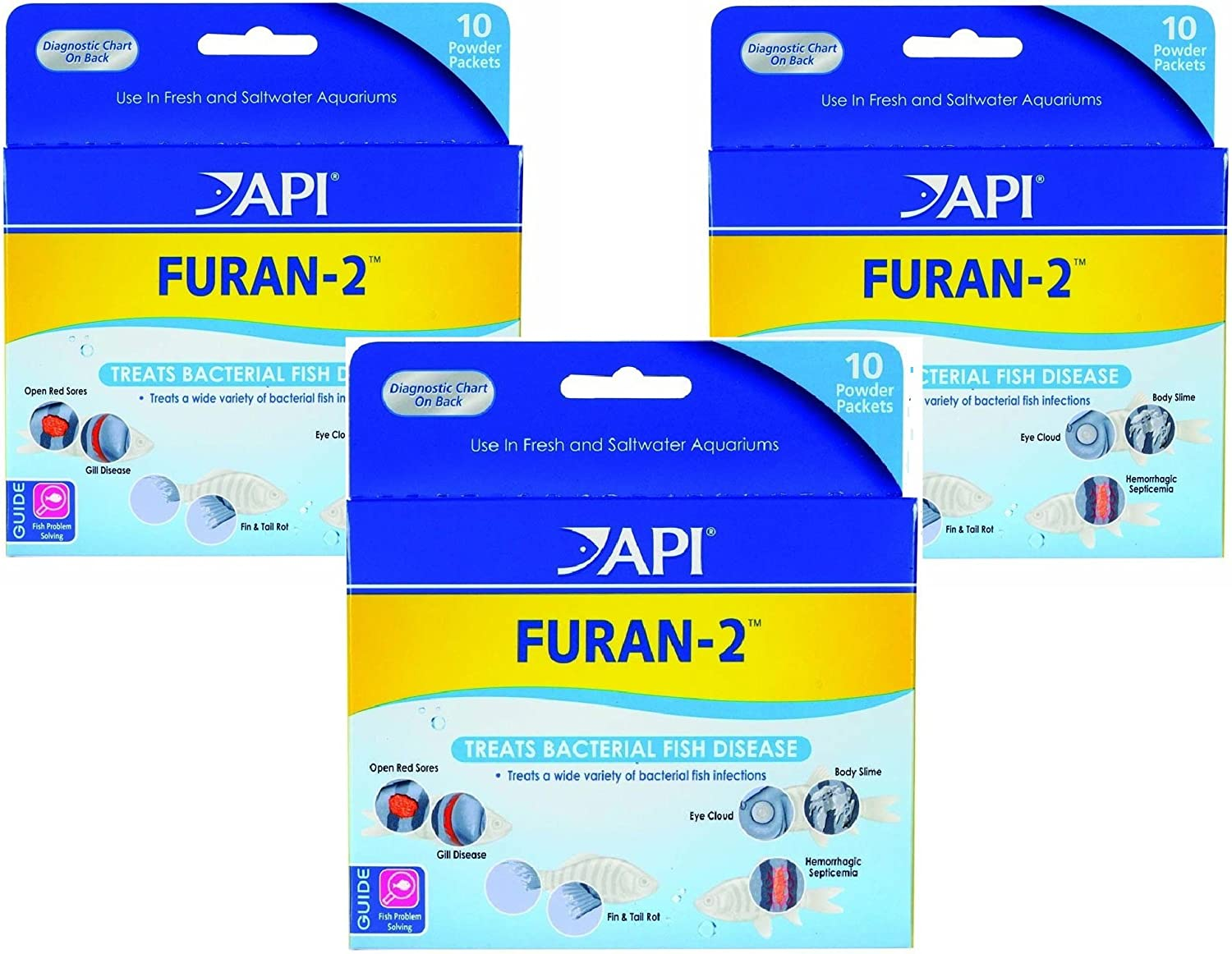 (3 Pack) Furan-2 Powder, 10 Packets each