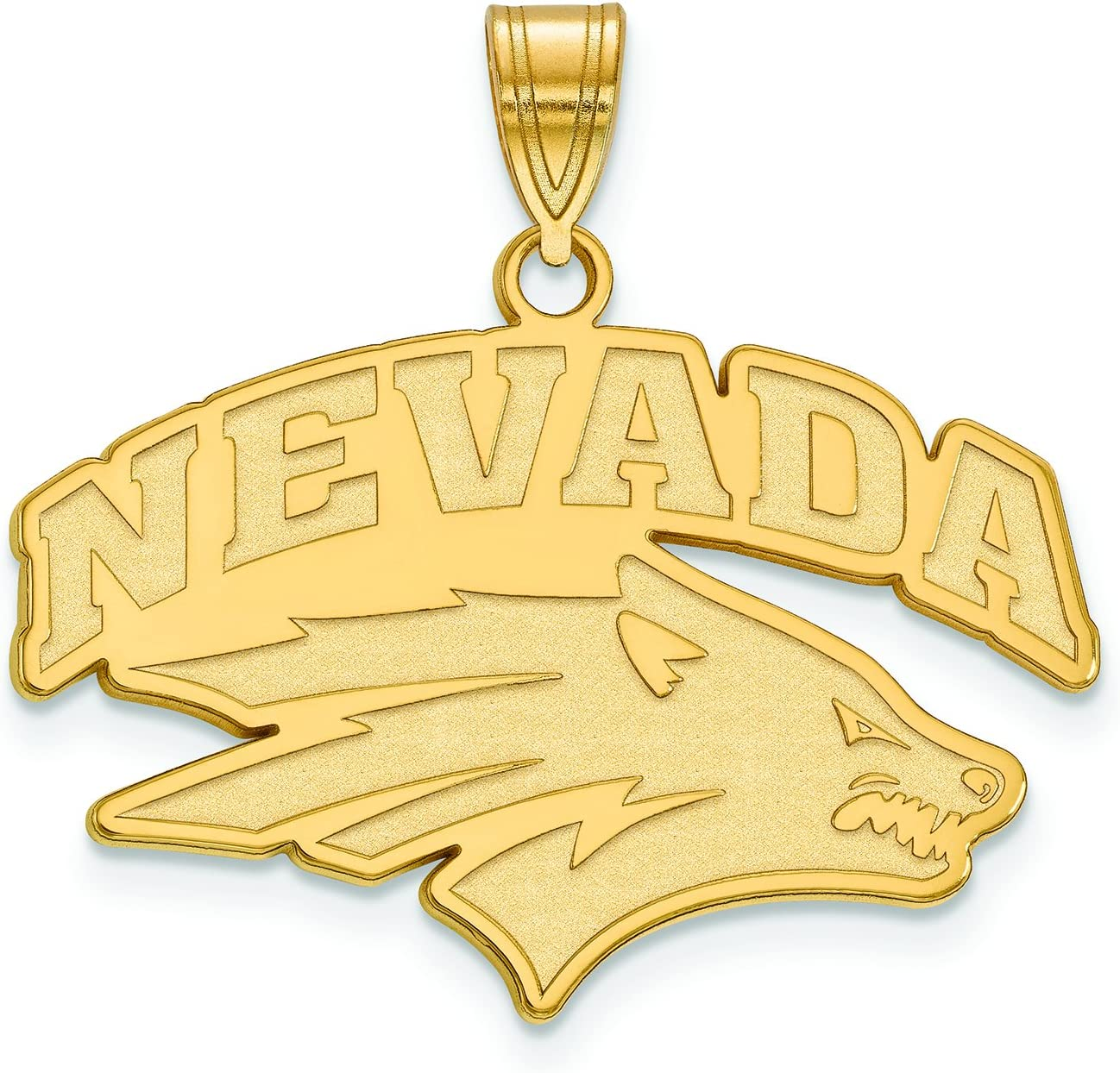 Nevada Large ( 3 / 4インチ)ペンダント( 10 Kイエローゴールド)