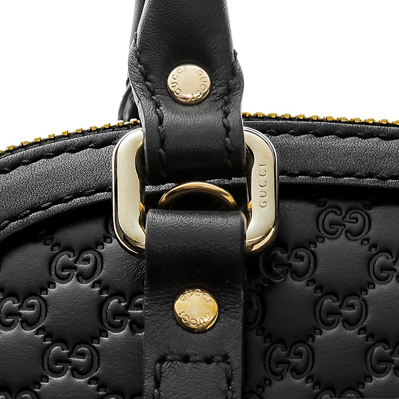 bfeec23d2ebf Amazon.com: Gucci microguccissima bag black leather 449654 BMJ1G 1000: Shoes