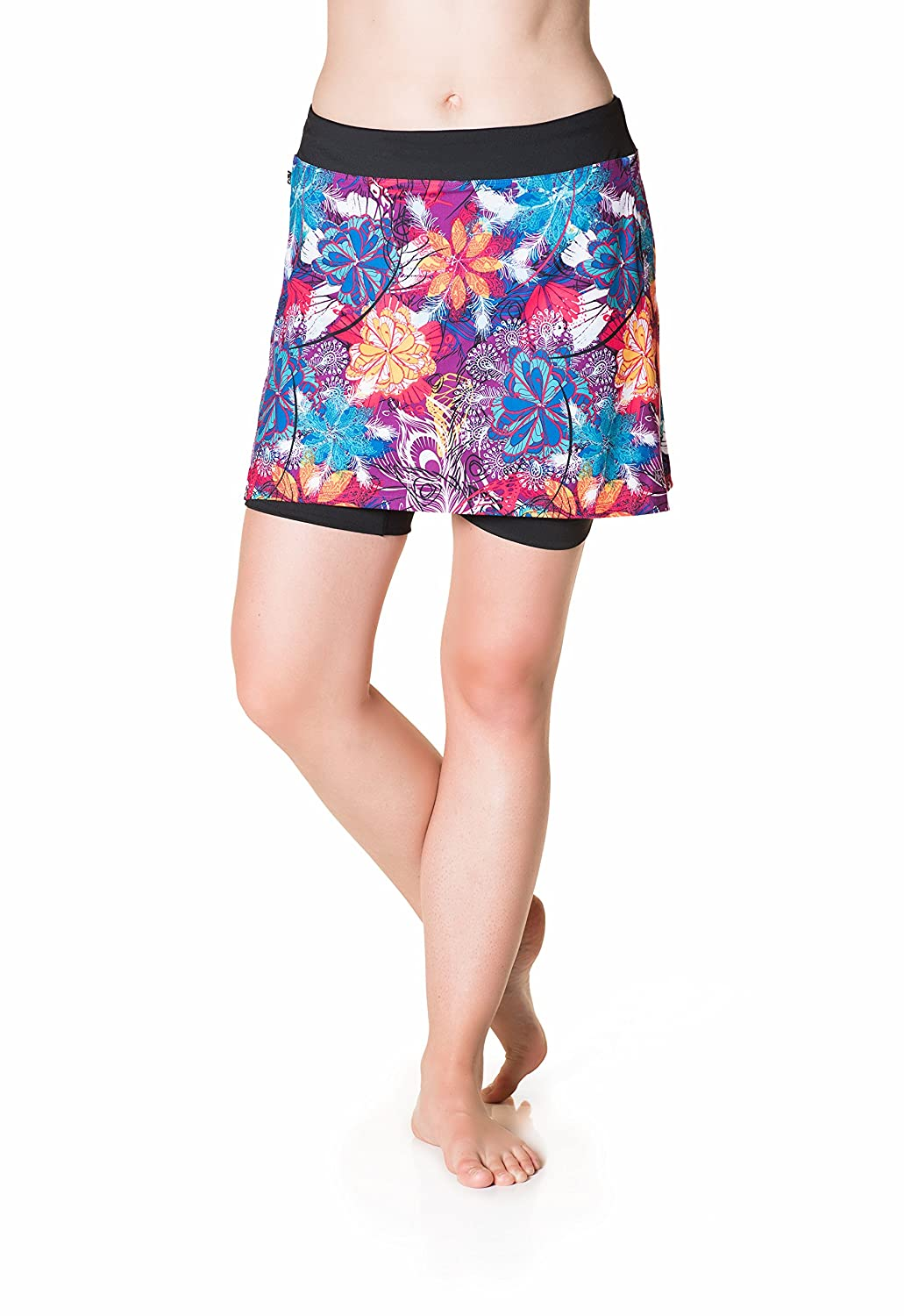 Skirt Sports Womens Cruiser Bike Girl Skirt SkirtSports Inc. 2021-P