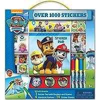 Bendon Paw Patrol Caja de Stickers con Marcadores