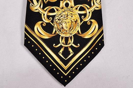 Versace Diseñador Corbata Tie Corbata CRAVATE Corbata: Amazon.es ...