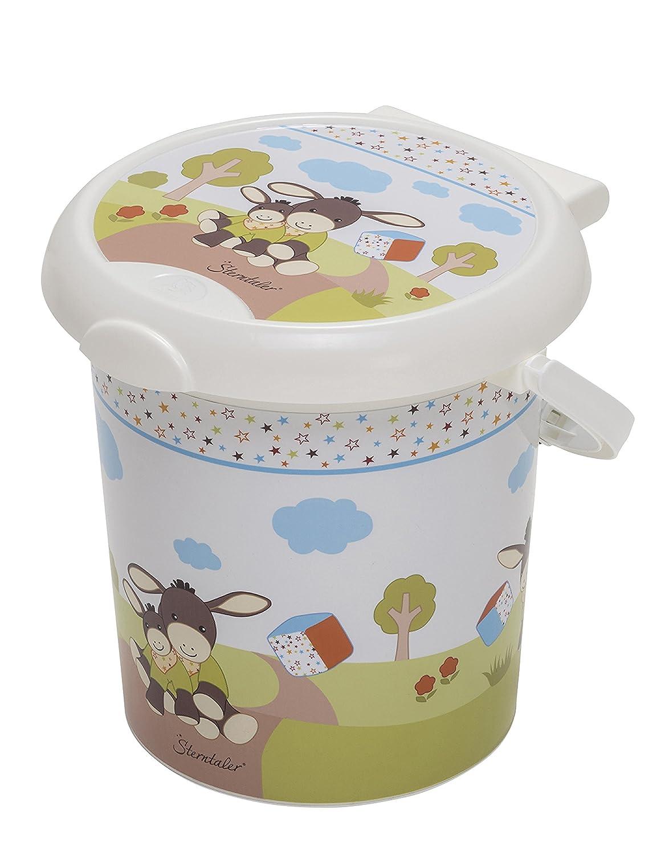 Para bebé Rotho de estilo de diseño de pañales de cubo de pintura de Sterntaler Emmy Rotho Baby Design 202150195BS