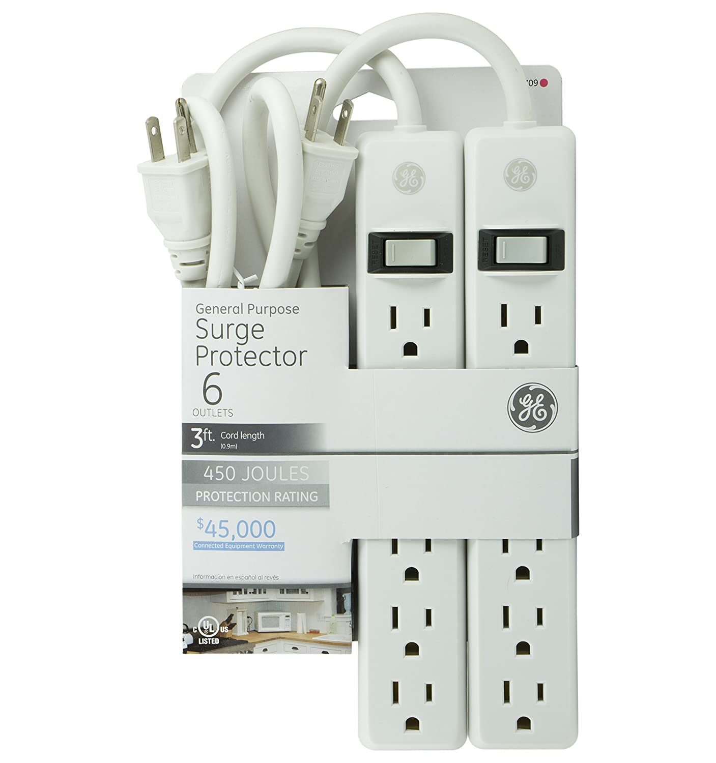 GE Outlet Protector Warranty 14709 Image 2