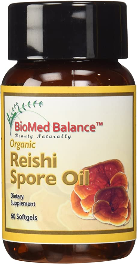BIOMED BALANCE Reishi Spore Oil, 60 Count