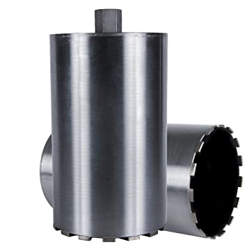 Hard Concrete Cougar HD Supreme Wet Concrete Diamond Core Drill Bit 2-1//2 Diameter X 1-1//4-7 Threaded Arbor for Drilling Reinforced Concrete with Rebar Granite Brick Block 2-1//2-inch More