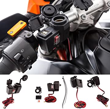 Ultimateaddons Motorrad Lenkerhalterung Zur Elektronik