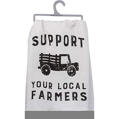 Primitives by Kathy Tea Towel/Dish Towel Farmers (Local Farmers)