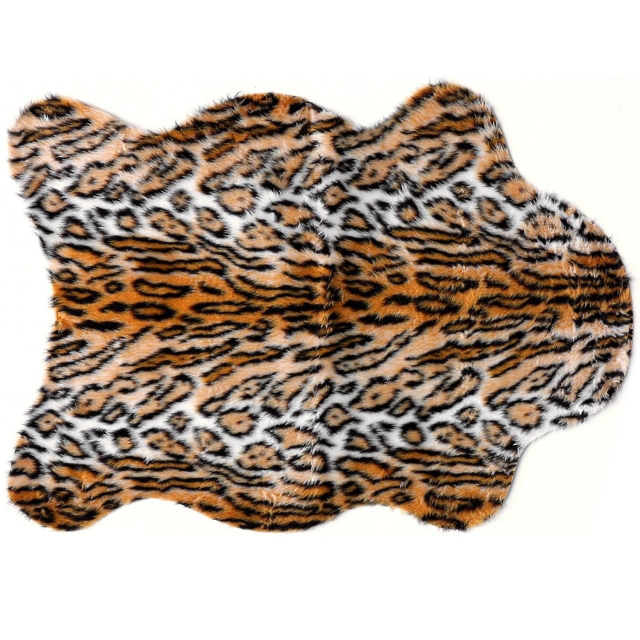 Debonsol - Tapis Salon Peau DE BÊTE Jaguar 70x100cm