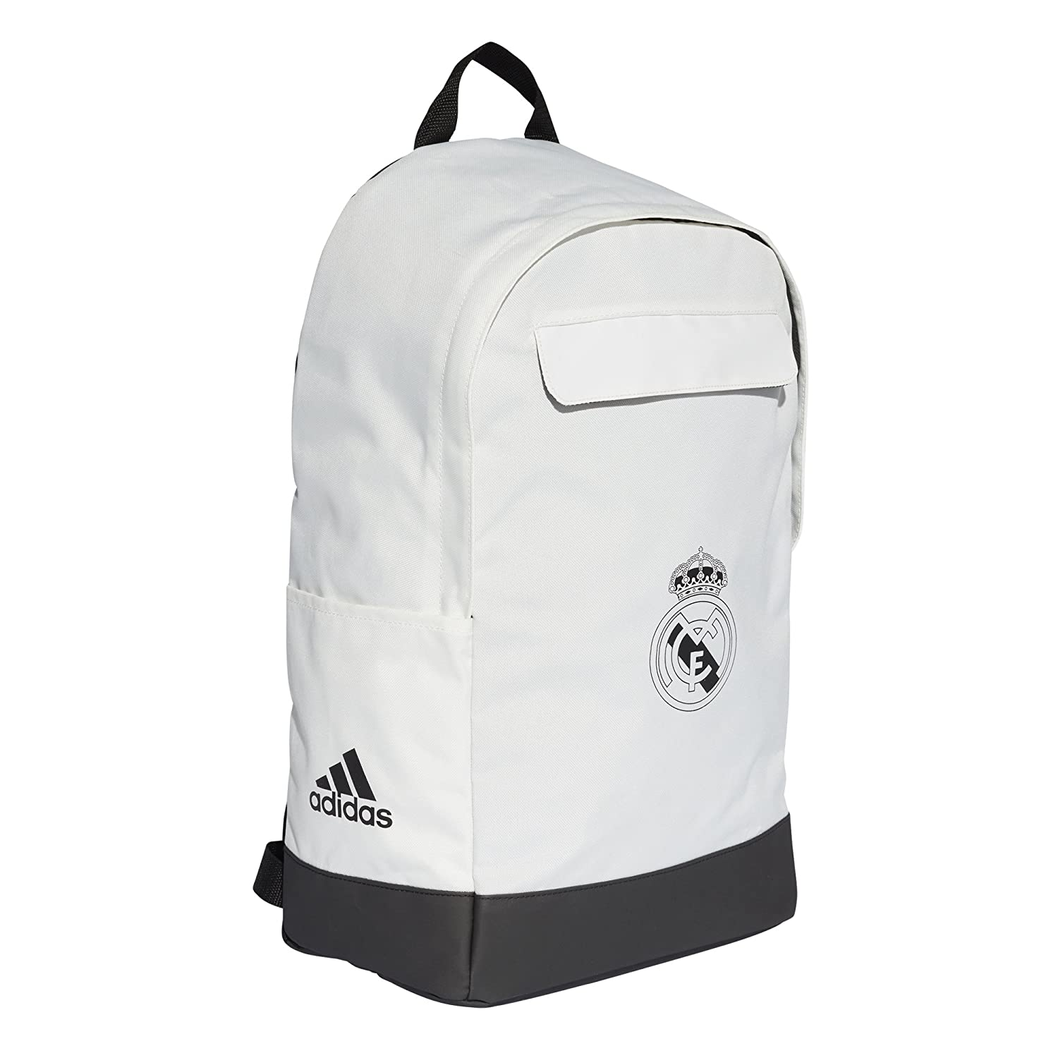 Amazon.com   adidas 2018-2019 Real Madrid Backpack (White)   Sports    Outdoors 9b0b7dfd9e8d6