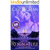 Reign Of Fire: Lies, corruption, and murder… Can a ghost spark love in the midst of chaos? (Deep State Mysteries Book 1)