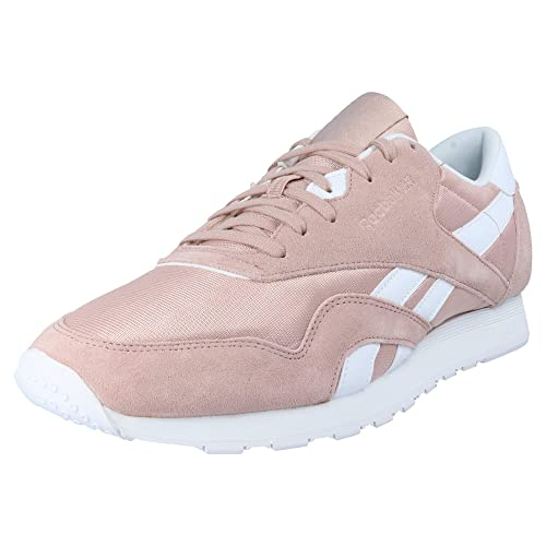 4e857242950 Reebok Classic CL Nylon SU Men s Sneakers Pink
