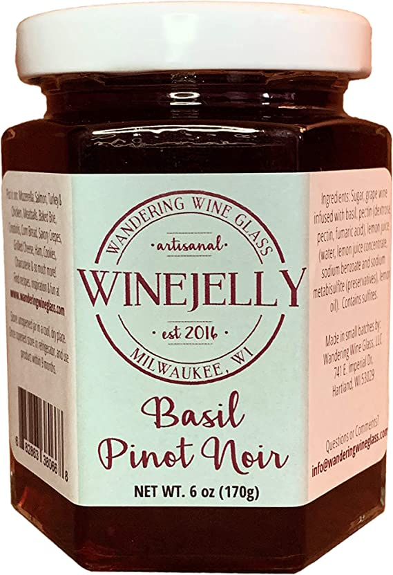 Basil Pinot Noir Wine Jelly