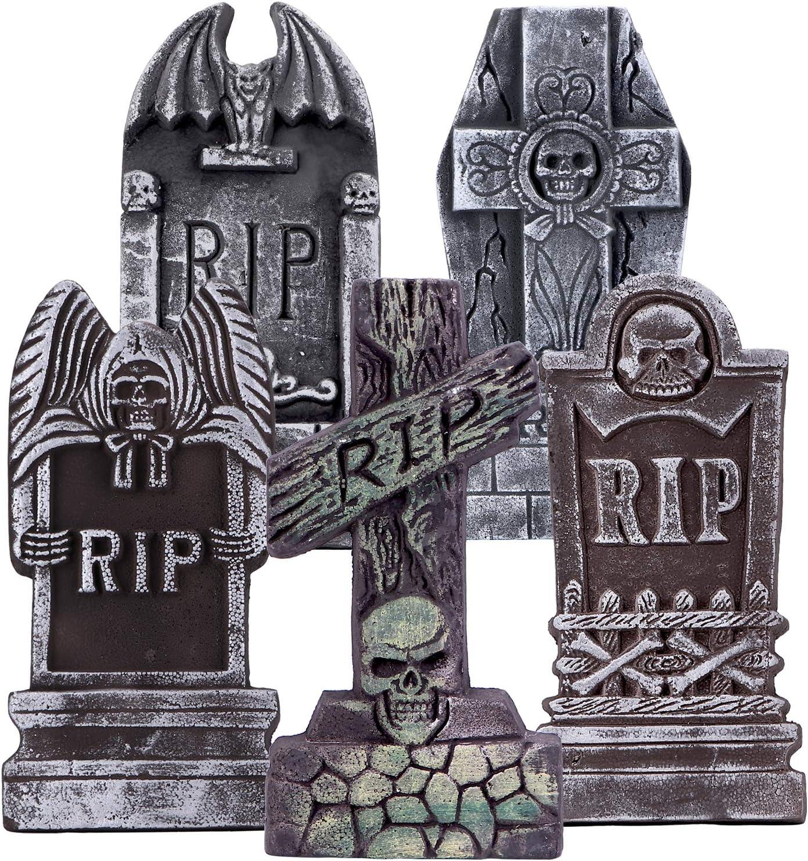 "Amazon AYOGU1 17"" Halloween Foam RIP Graveyard"