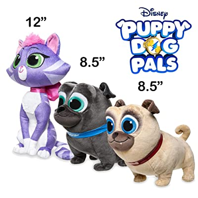 Puppy Dog Pals Plush - Rolly Bingo Hissy Bundle - Disney Exclusive: Toys & Games