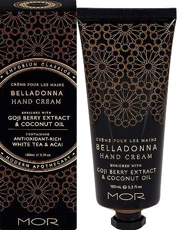 Mor Hand Cream, Belladonna, 3.38 Fluid Ounce