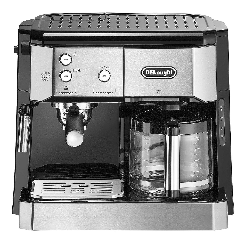 DeLonghi BCO 421.S Independiente Totalmente automática - Cafetera (Independiente, Cafetera combinada, 1 L, Dosis de café, De café molido, 1750 W, Negro, ...
