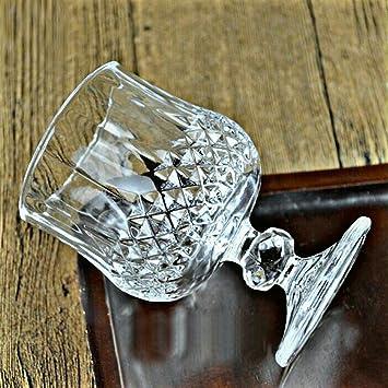 anshika traders Wine Glass, White - Set of 6