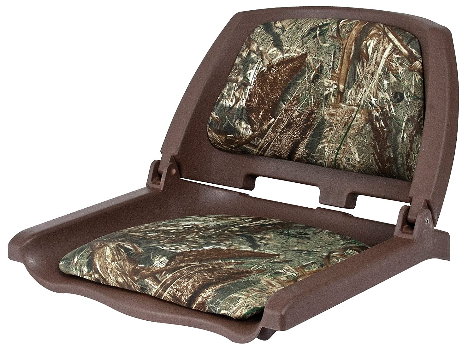 Camo Boat Bench Seat Cushions Molded Folddown Boat Seat With Clamp A Toyota Tacoma Front