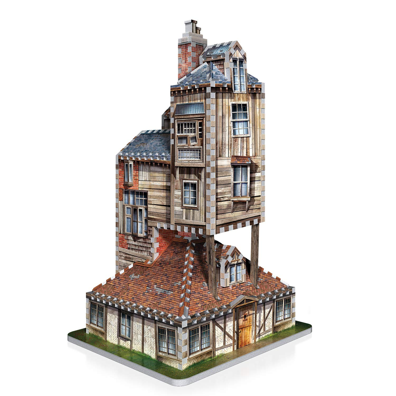 Wrebbit , Puzzle 3D Harry Potter représentant Le Terrier, la Maison des  Weasley Amazon.fr Jeux et Jouets