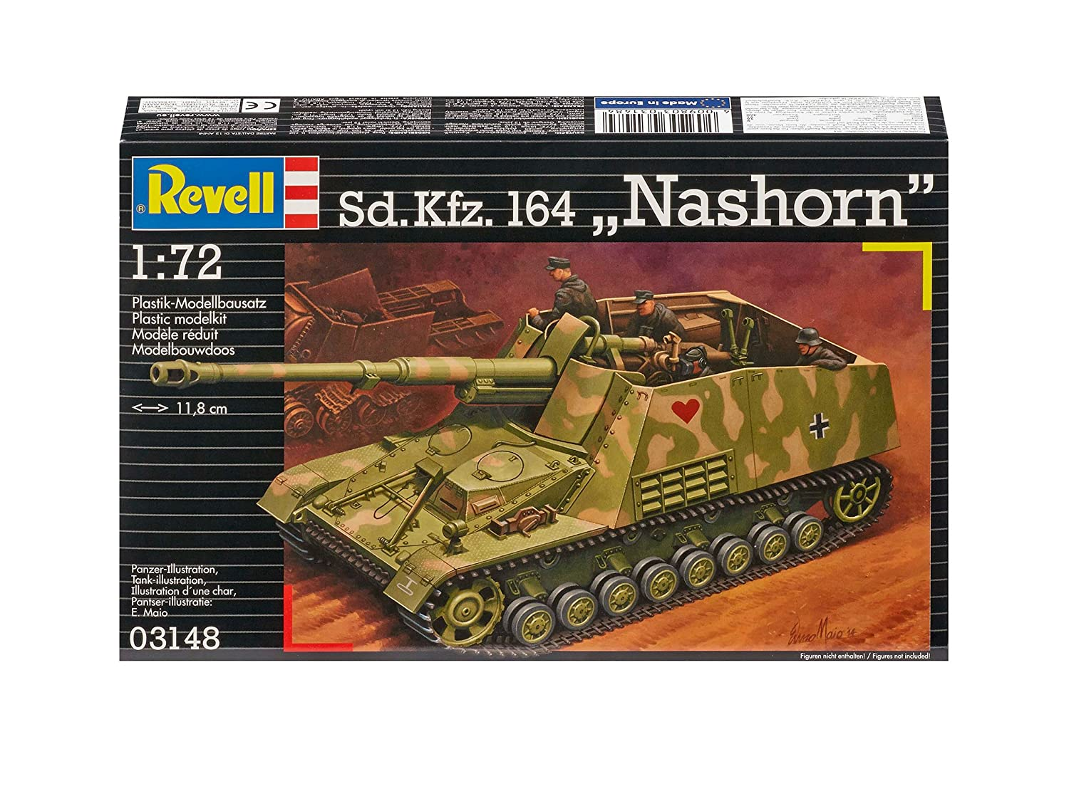Revell 03148 Sd.Kfz.164 Nashorn Model Kit RG3148