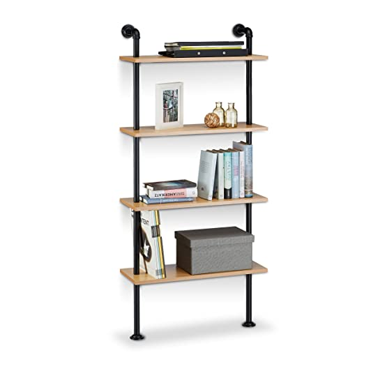 etagere industriel. Black Bedroom Furniture Sets. Home Design Ideas