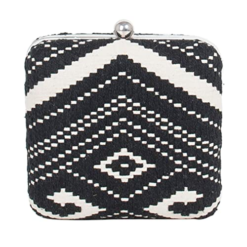 Parfois - Clutch - Bolso De Fiesta Black & Yellow Collection - Mujeres - Tallas S