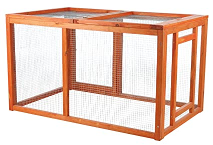 Amazon.com : Chicken Coop Cage House Building Poultry Supplies Wood ...