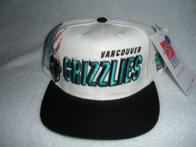 2e92b79b Amazon.com : Vancouver Grizzlies Vintage Sports Specialties Shadow-Script  Snapback Hat : Sports Fan Baseball Caps : Sports & Outdoors