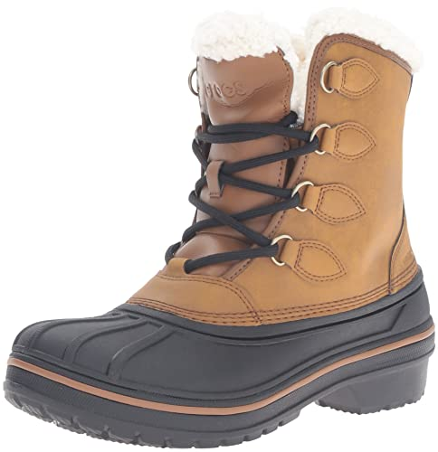 2b43ca9ae21780 Crocs Women s Allcast2btw Snow Boot Blue  Amazon.co.uk  Shoes   Bags