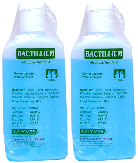 Buy Generic Advita Lifesciences Bectosil Sterillium Hand Sanitizer