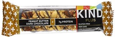 KIND Bars, Peanut Butter Dark Chocolate + Protein, Gluten Free