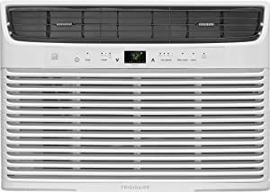 Frigidaire 10,000 BTU Remote Temperature Control Window Air Conditioner Unit, White (Renewed)