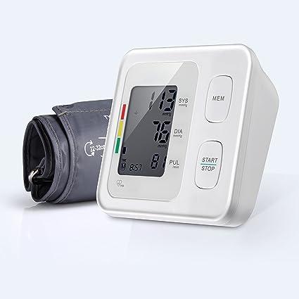 JIARUI brazo superior Esfigmomanómetro completamente automático con detección de arritmias, lectura fácil, medición precisa