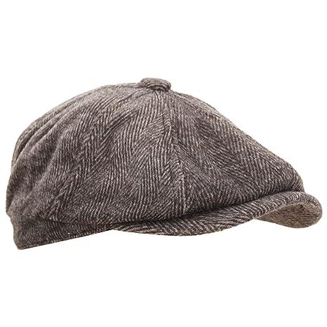 9d988f7c Universal Textiles Mens 8 Panel Wool Blend Newsboy Cap at Amazon Men's  Clothing store: