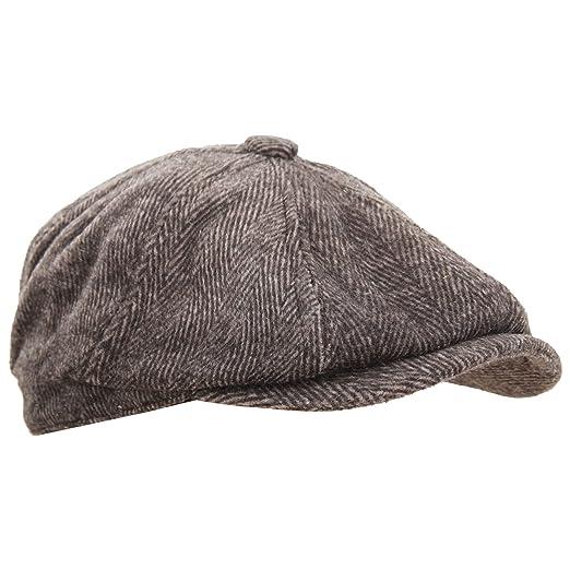 53975dc2 Universal Textiles Mens 8 Panel Wool Blend Newsboy Cap at Amazon Men's  Clothing store: