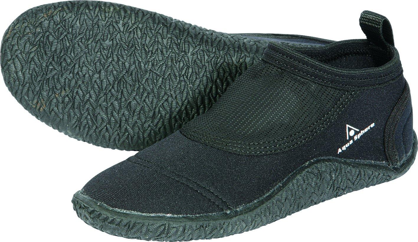 Aqua Sphere Unisex Beachwalker Neoprene Water/Beach Shoe, Black, Size FM008