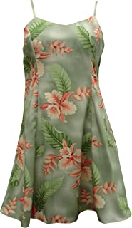 product image for Paradise Found Womens Orchid Heliconia Princess Seam Mini Sundress