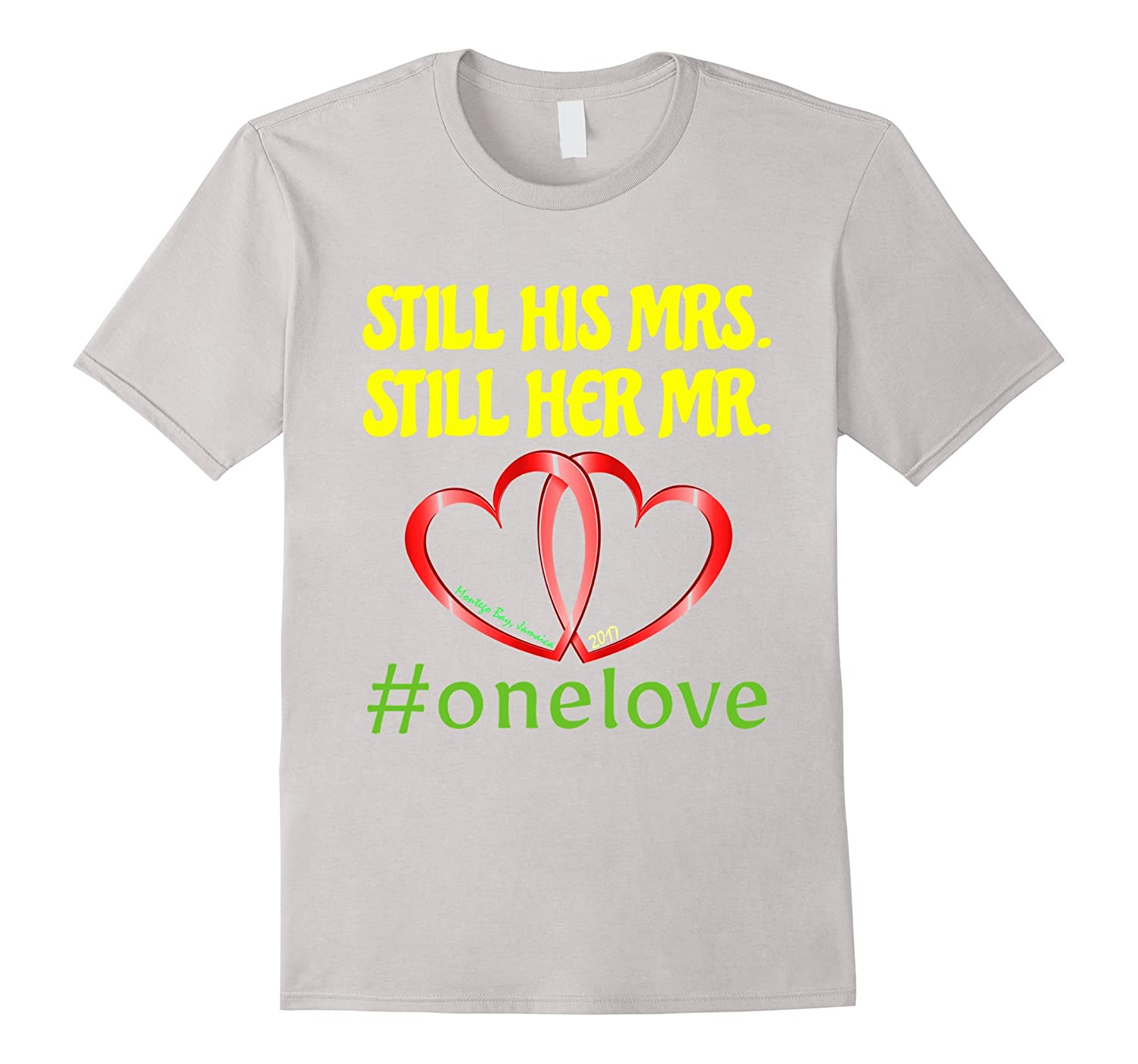 #Onelove T-Shirt for the Barney Jamaica Trip-TH