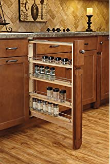 Amazon.com: Hardware Resources WFPO630 Wall Cabinet Filler Pullout ...