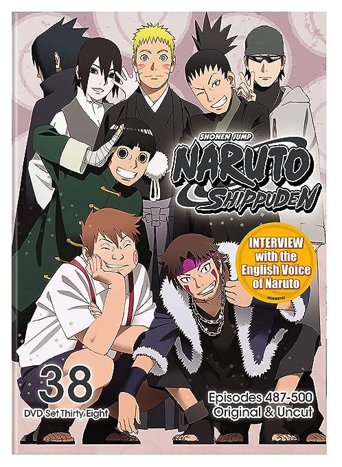 Amazon.com: Naruto Shippuden Uncut Set 38 (DVD): Various ...