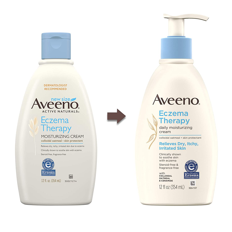 Aveeno Eczema Therapy Daily Moisturizing Cream for Sensitive Skin