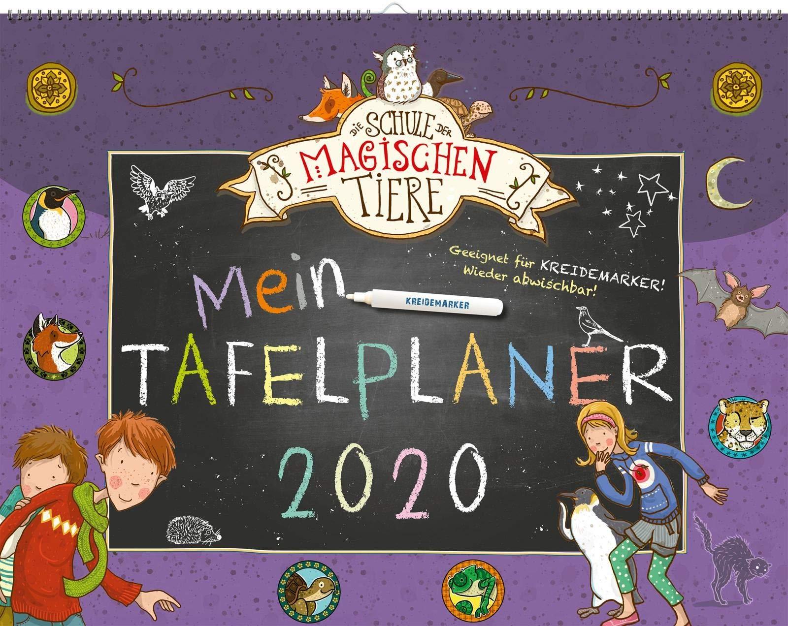 Die Schule Der Magischen Tiere Mein Tafelplaner 2020