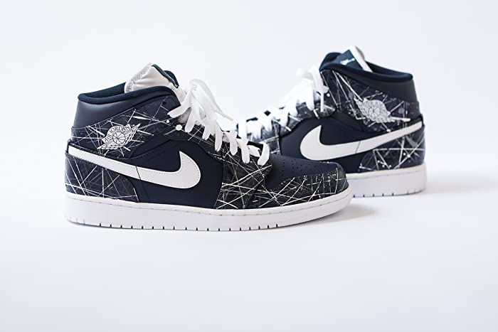 bbaac3e85ad74c Image Unavailable. Image not available for. Color  Nike Air Jordan 1 Custom  Mens   ...