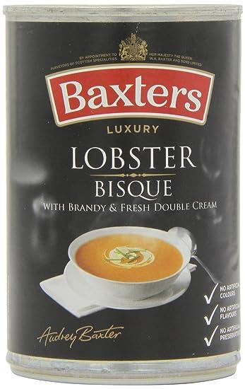 Baxters Sopa de Bisque de Langosta - Paquete de 12 x 400 gr - Total: