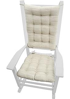Rocking Chair Cushions   Brisbane Mist   Extra Large   Latex Foam Fill    Reversible