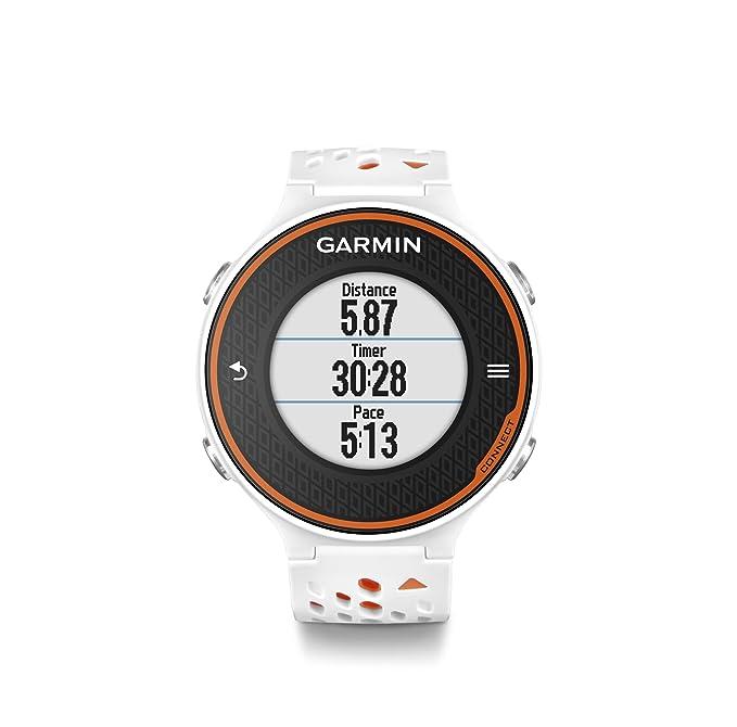 Garmin 010-01128-01 - Forerunner 620 - Blanco/Naranja - Reloj GPS
